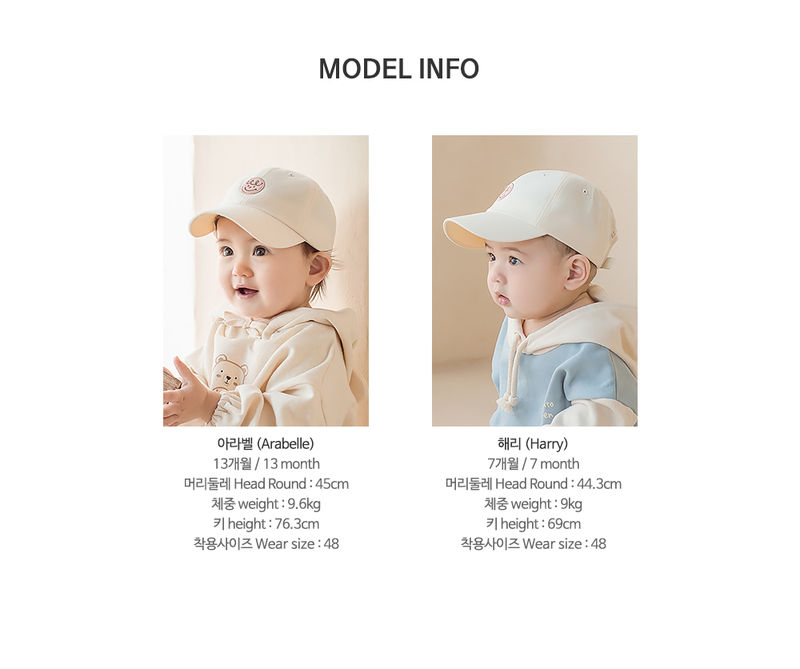 HAPPY PRINCE - Korean Children Fashion - #Kfashion4kids - Din Din Baby Ball Cap - 10