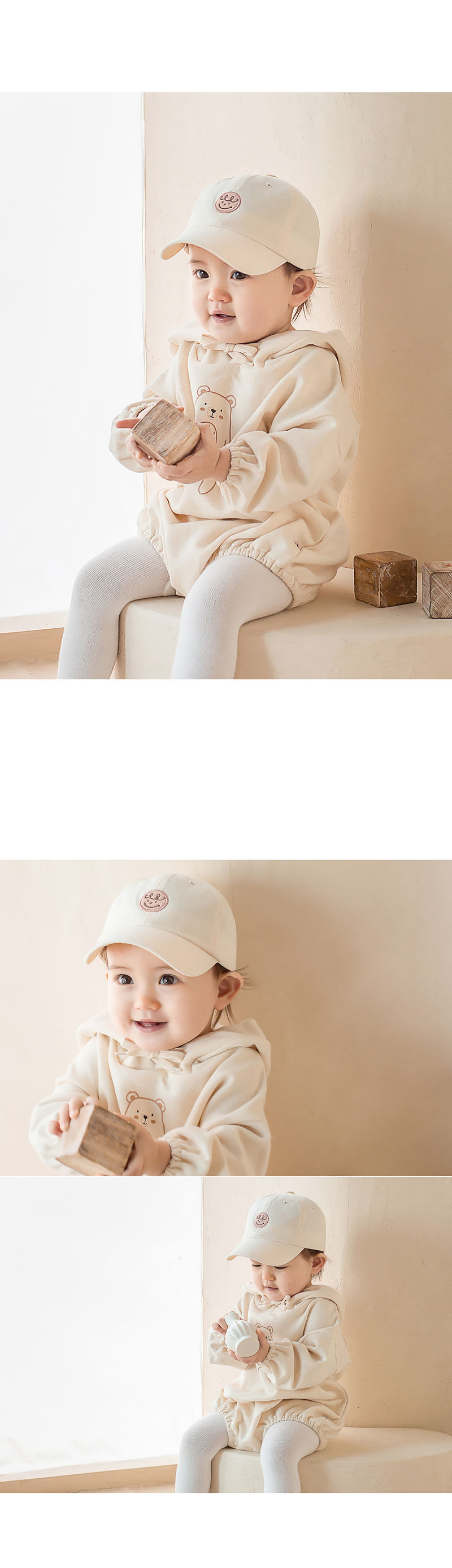 HAPPY PRINCE - Korean Children Fashion - #Kfashion4kids - Din Din Baby Ball Cap - 3