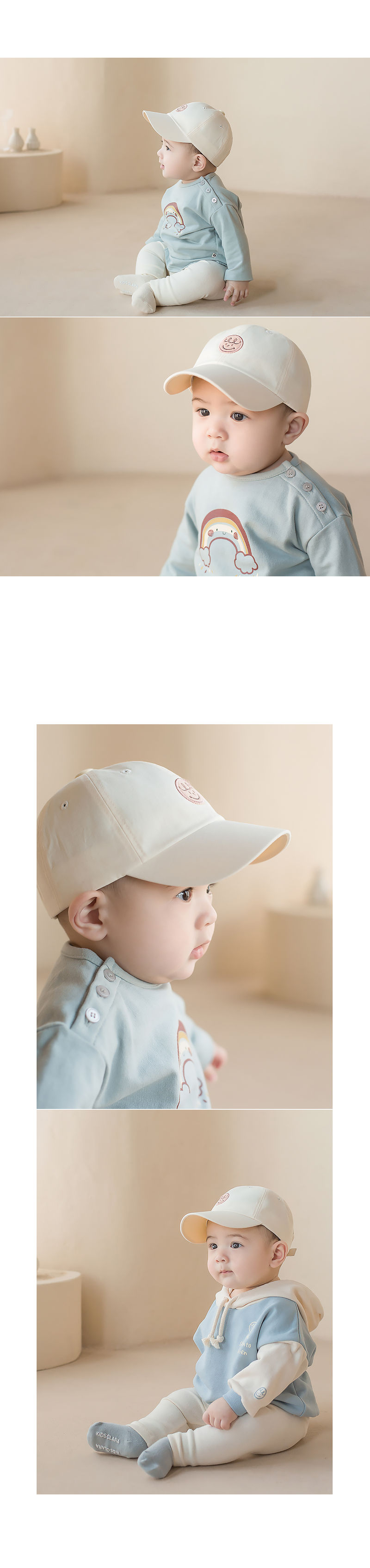 HAPPY PRINCE - Korean Children Fashion - #Kfashion4kids - Din Din Baby Ball Cap - 5