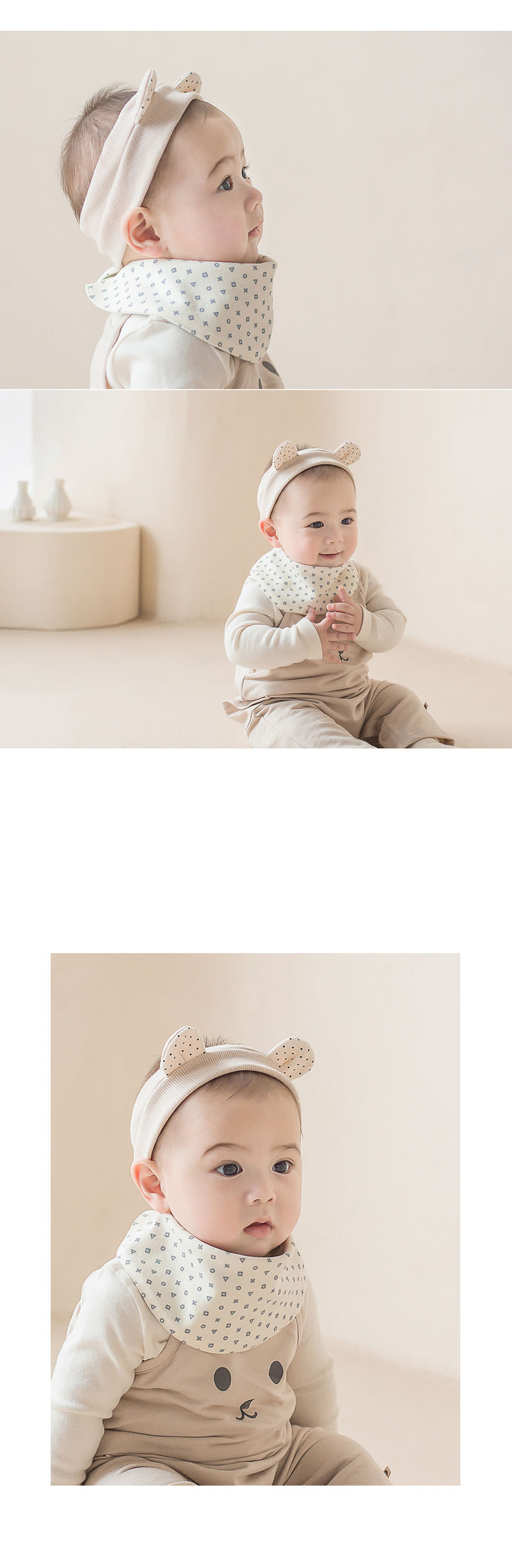 HAPPY PRINCE - Korean Children Fashion - #Kfashion4kids - Din Din Baby Banana Bib - 2