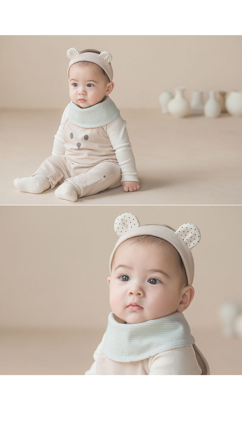 HAPPY PRINCE - Korean Children Fashion - #Kfashion4kids - Din Din Baby Banana Bib - 4