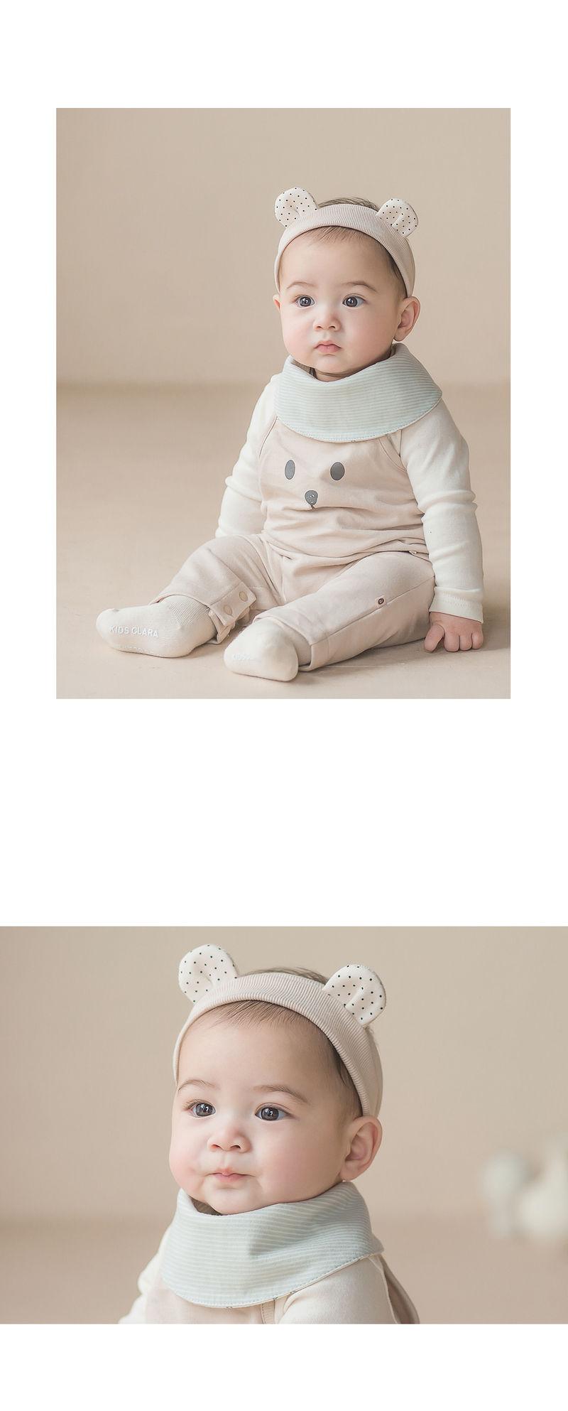 HAPPY PRINCE - Korean Children Fashion - #Kfashion4kids - Din Din Baby Banana Bib - 5