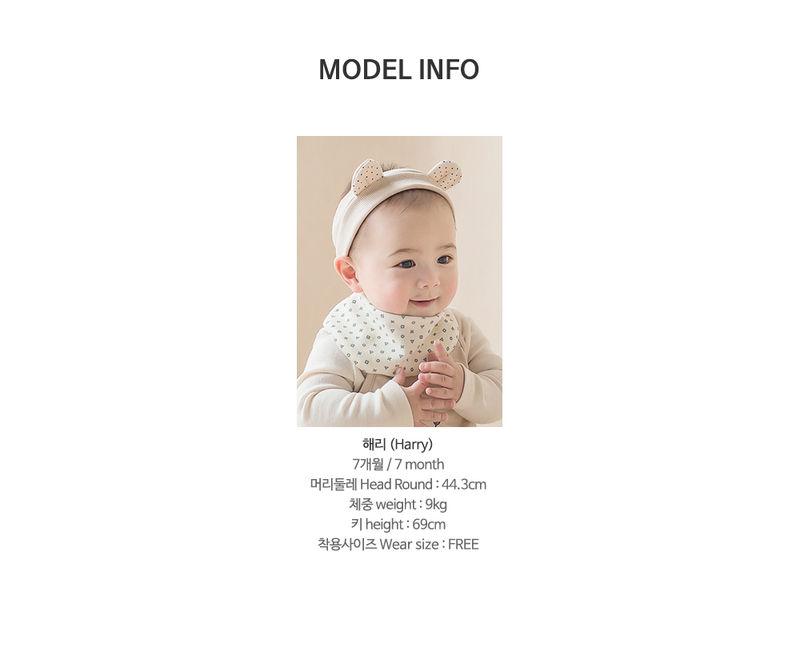 HAPPY PRINCE - Korean Children Fashion - #Kfashion4kids - Din Din Baby Banana Bib - 9