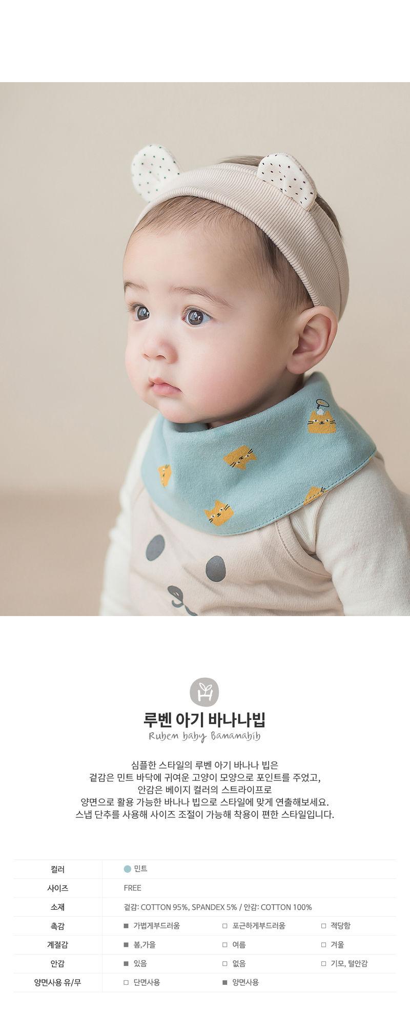 HAPPY PRINCE - Korean Children Fashion - #Kfashion4kids - Ruben Baby Banana Bib