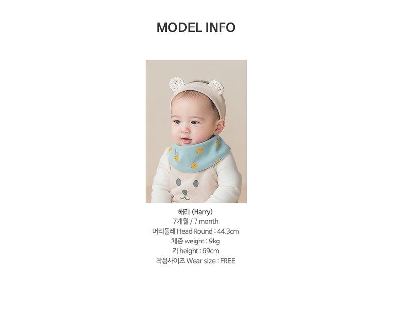 HAPPY PRINCE - Korean Children Fashion - #Kfashion4kids - Ruben Baby Banana Bib - 10