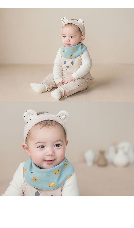 HAPPY PRINCE - Korean Children Fashion - #Kfashion4kids - Ruben Baby Banana Bib - 2
