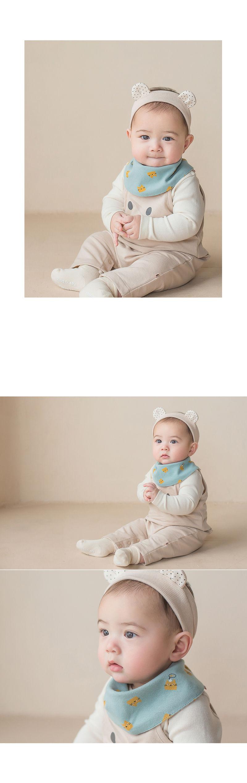 HAPPY PRINCE - Korean Children Fashion - #Kfashion4kids - Ruben Baby Banana Bib - 3