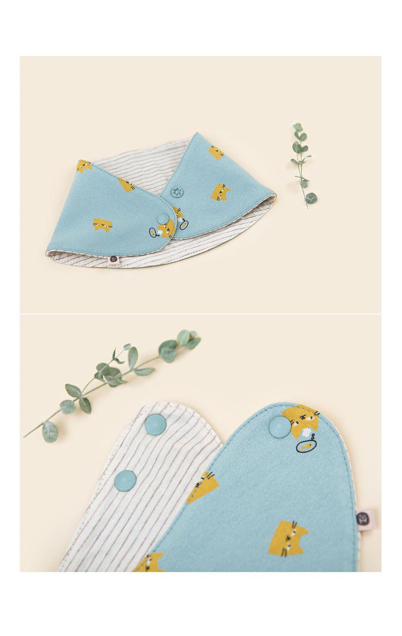 HAPPY PRINCE - Korean Children Fashion - #Kfashion4kids - Ruben Baby Banana Bib - 4