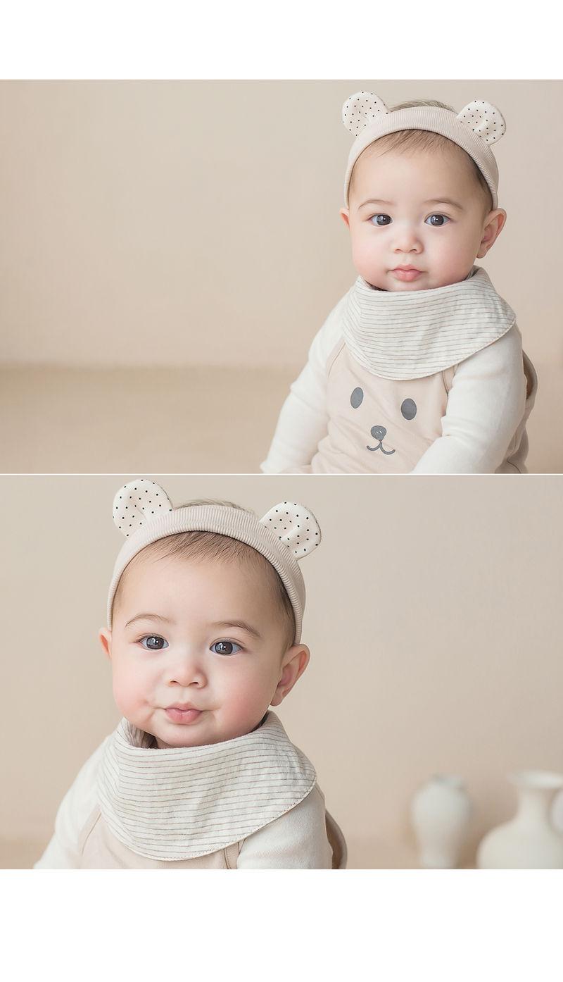 HAPPY PRINCE - Korean Children Fashion - #Kfashion4kids - Ruben Baby Banana Bib - 5