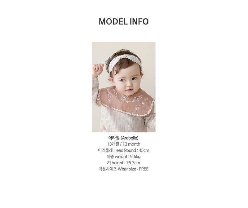 HAPPY PRINCE - Korean Children Fashion - #Kfashion4kids - Conell Baby Hairband [set of 5] - 10