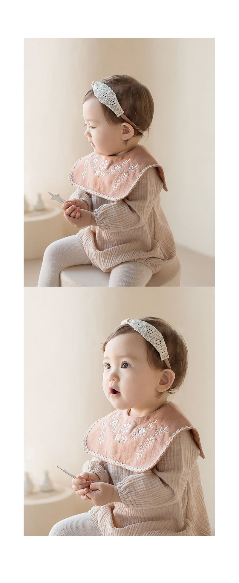 HAPPY PRINCE - Korean Children Fashion - #Kfashion4kids - Conell Baby Hairband [set of 5] - 5