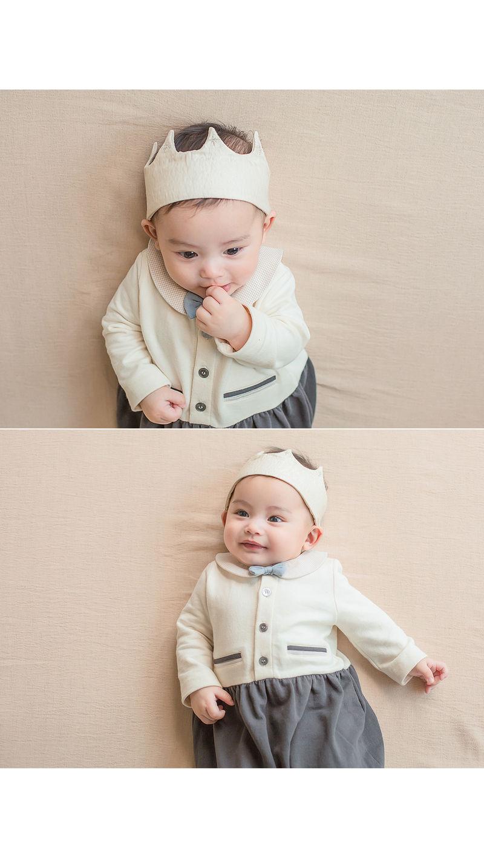 HAPPY PRINCE - Korean Children Fashion - #Kfashion4kids - Flat Crown Baby Hairband [set of 5] - 3
