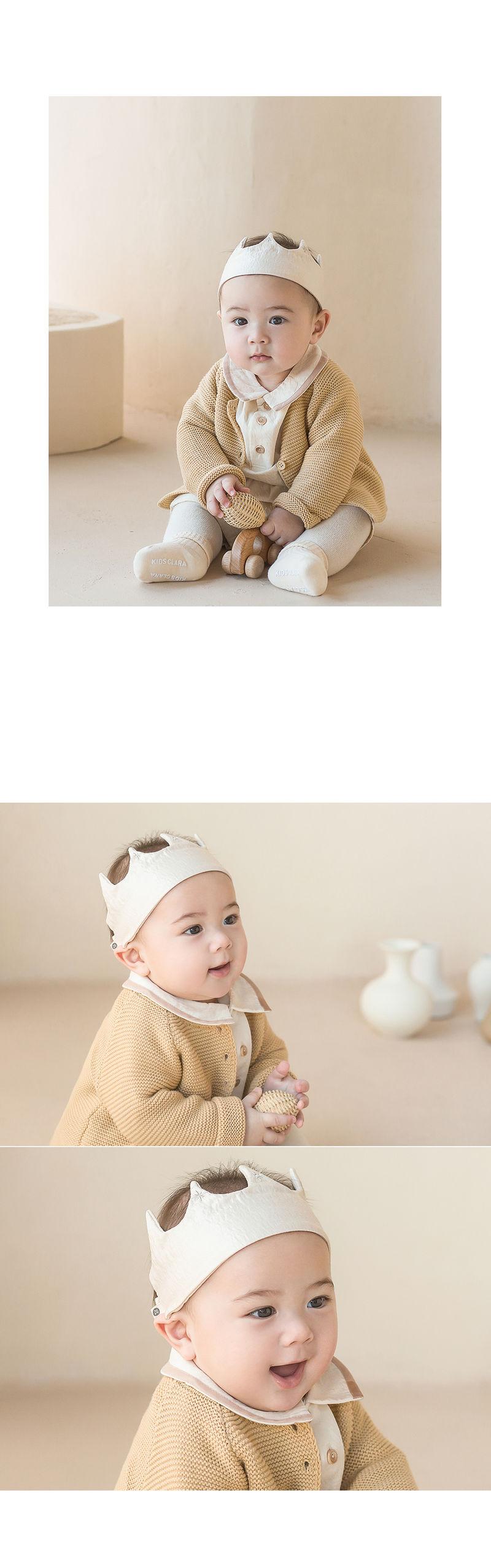 HAPPY PRINCE - Korean Children Fashion - #Kfashion4kids - Flat Crown Baby Hairband [set of 5] - 4
