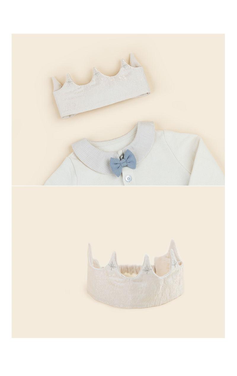 HAPPY PRINCE - Korean Children Fashion - #Kfashion4kids - Flat Crown Baby Hairband [set of 5] - 5