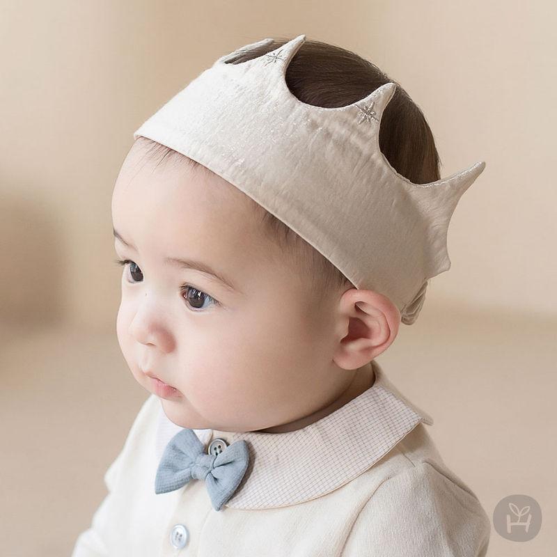 HAPPY PRINCE - BRAND - Korean Children Fashion - #Kfashion4kids - Flat Crown Baby Hairband [set of 5]