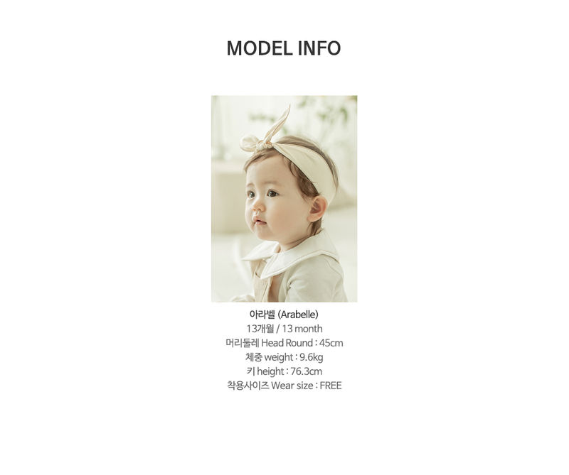 HAPPY PRINCE - Korean Children Fashion - #Kfashion4kids - Miel Wire Baby Hairband [set of 5] - 10