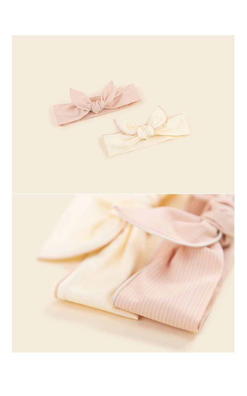 HAPPY PRINCE - Korean Children Fashion - #Kfashion4kids - Miel Wire Baby Hairband [set of 5] - 4
