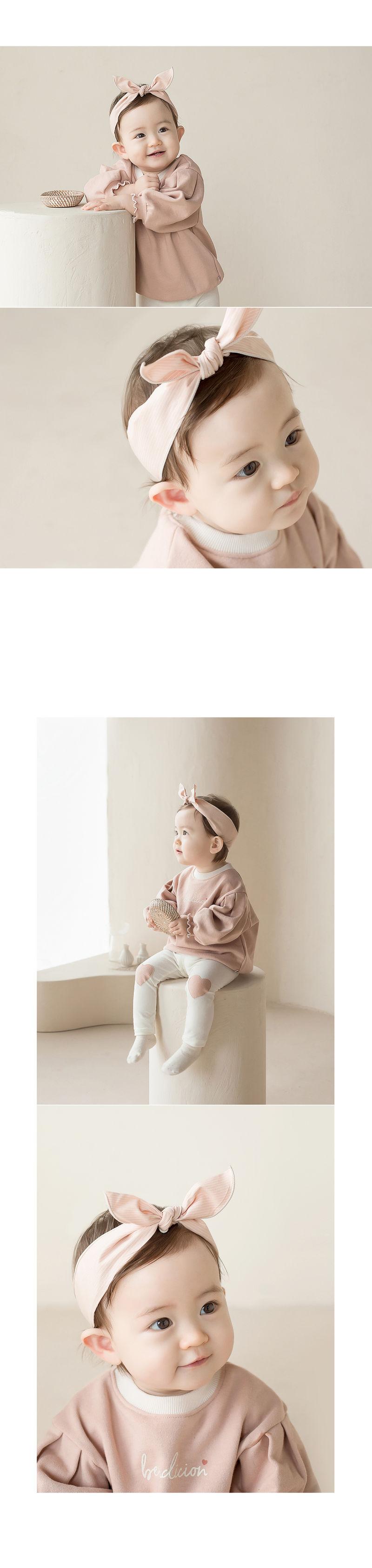 HAPPY PRINCE - Korean Children Fashion - #Kfashion4kids - Miel Wire Baby Hairband [set of 5] - 5