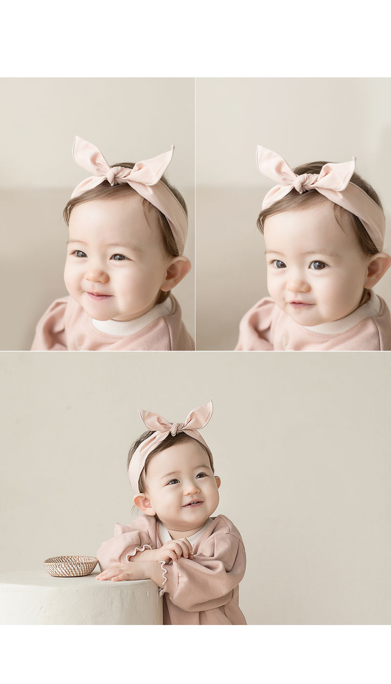 HAPPY PRINCE - Korean Children Fashion - #Kfashion4kids - Miel Wire Baby Hairband [set of 5] - 6