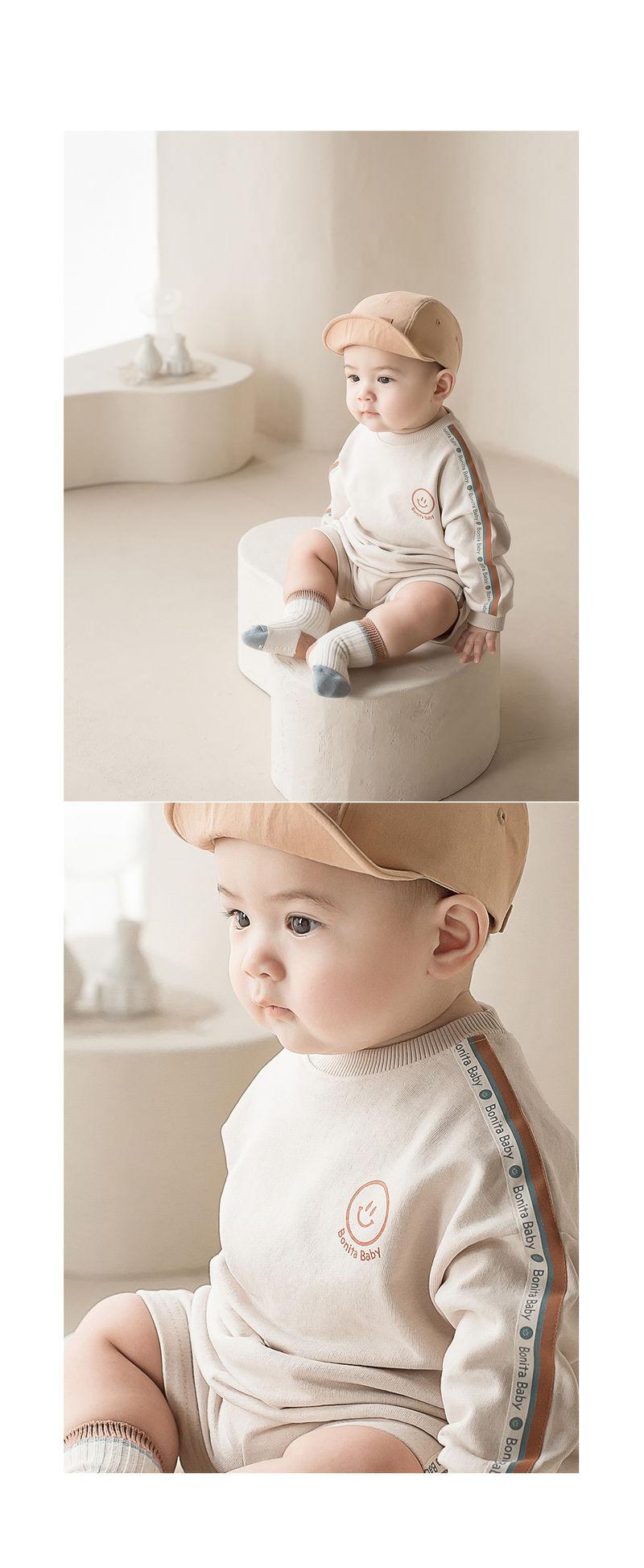 HAPPY PRINCE - Korean Children Fashion - #Kfashion4kids - Dico Baby Top and Bottom - 6