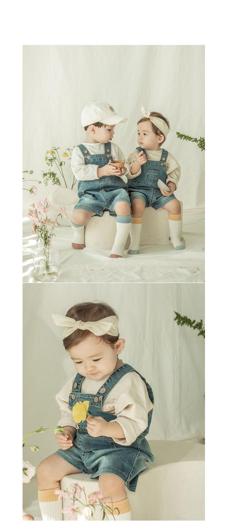 HAPPY PRINCE - Korean Children Fashion - #Kfashion4kids - Osca Baby Long Sleeve - 10