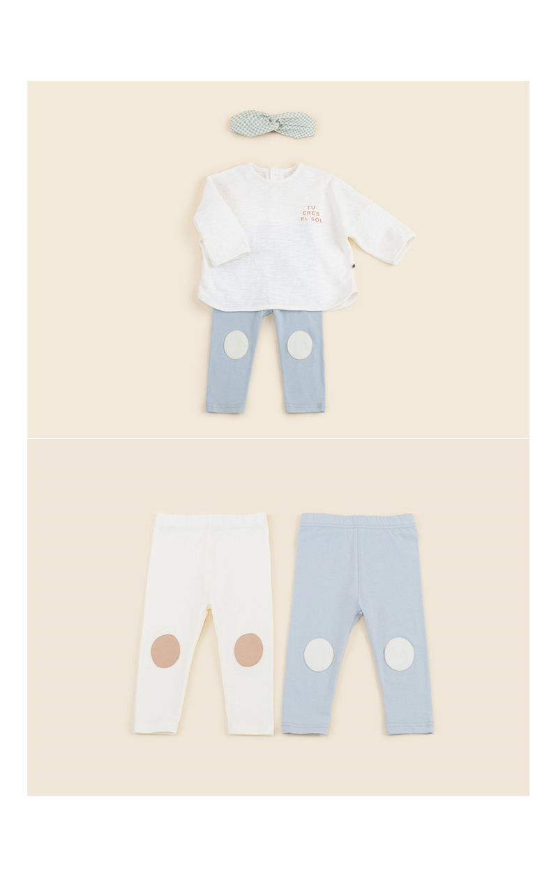 HAPPY PRINCE - Korean Children Fashion - #Kfashion4kids - Lobby Baby Leggings - 4