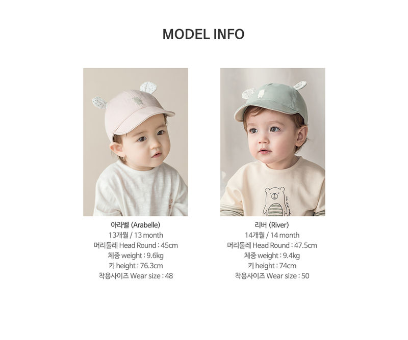 HAPPY PRINCE - Korean Children Fashion - #Kfashion4kids - Saya Wire Cap - 10