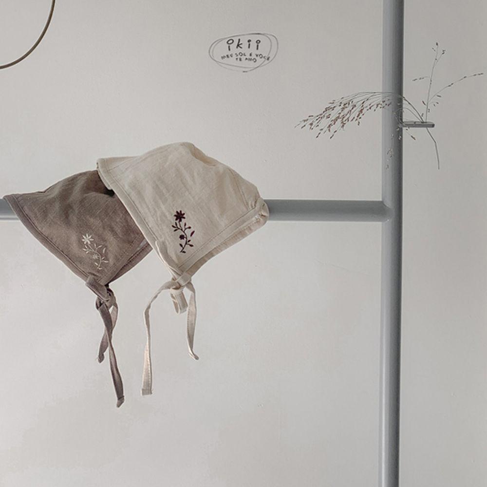 IKII - Korean Children Fashion - #Kfashion4kids - Bebe Coco Collar Bodysuit with Bonnet - 11