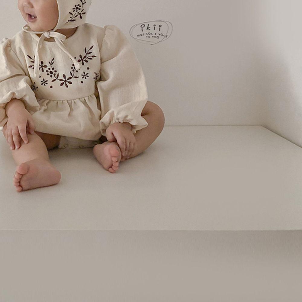 IKII - Korean Children Fashion - #Kfashion4kids - Bebe Anjou Romper with Bonnet - 10