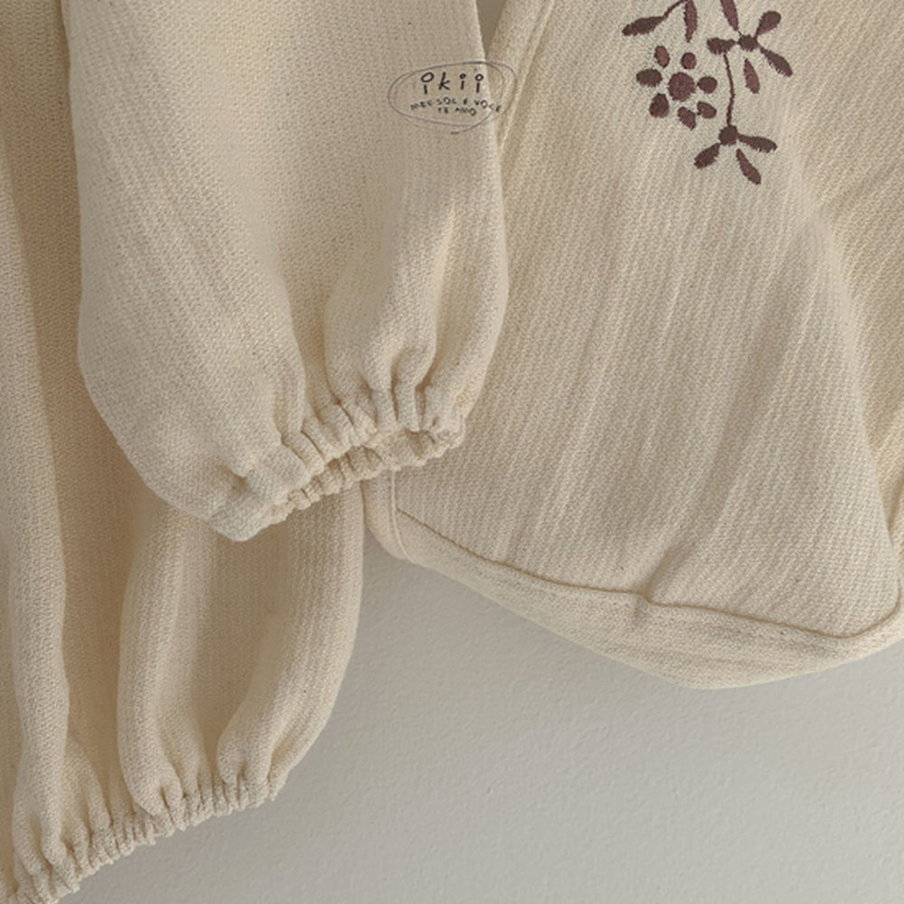 IKII - Korean Children Fashion - #Kfashion4kids - Bebe Anjou Romper with Bonnet - 4