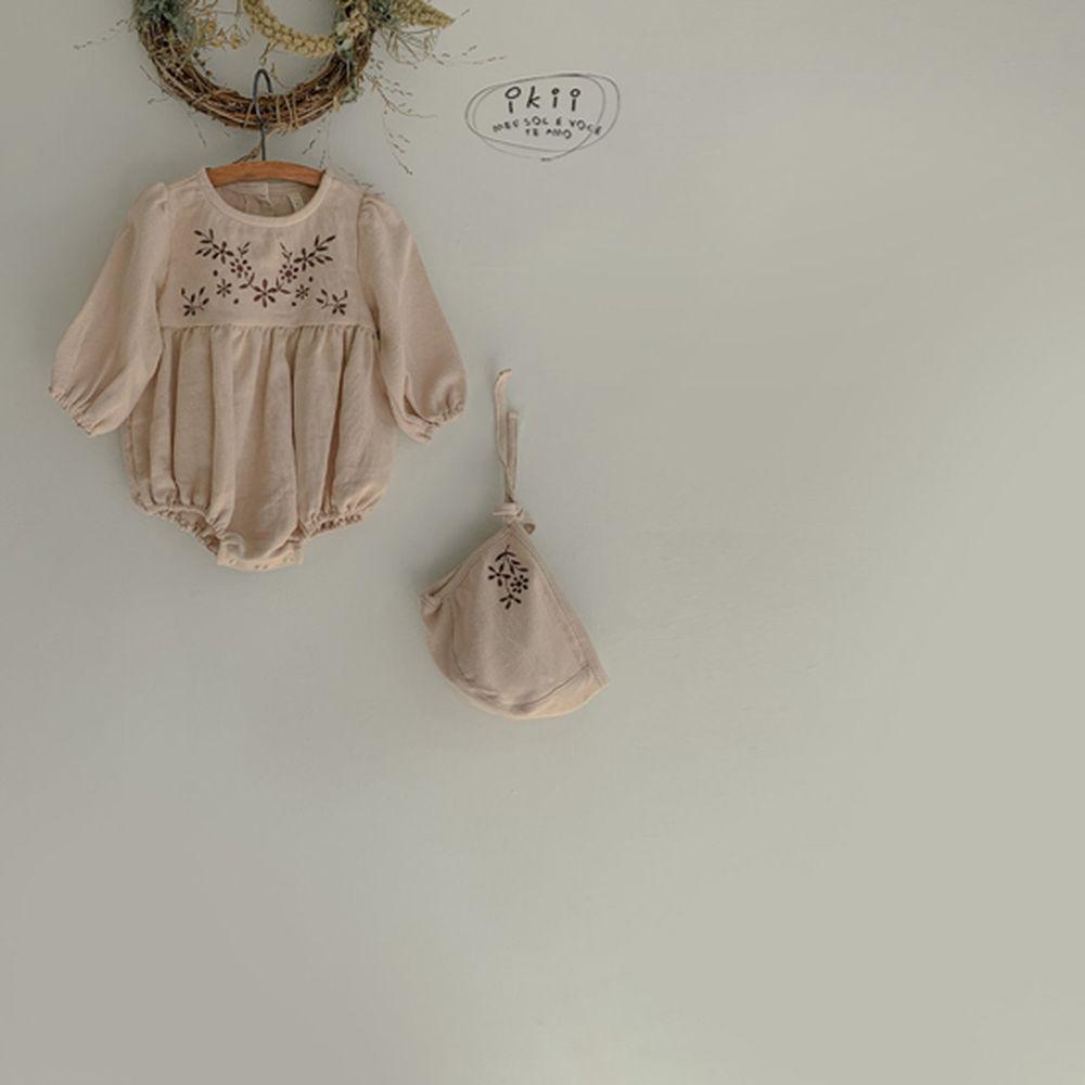IKII - Korean Children Fashion - #Kfashion4kids - Bebe Anjou Romper with Bonnet - 5
