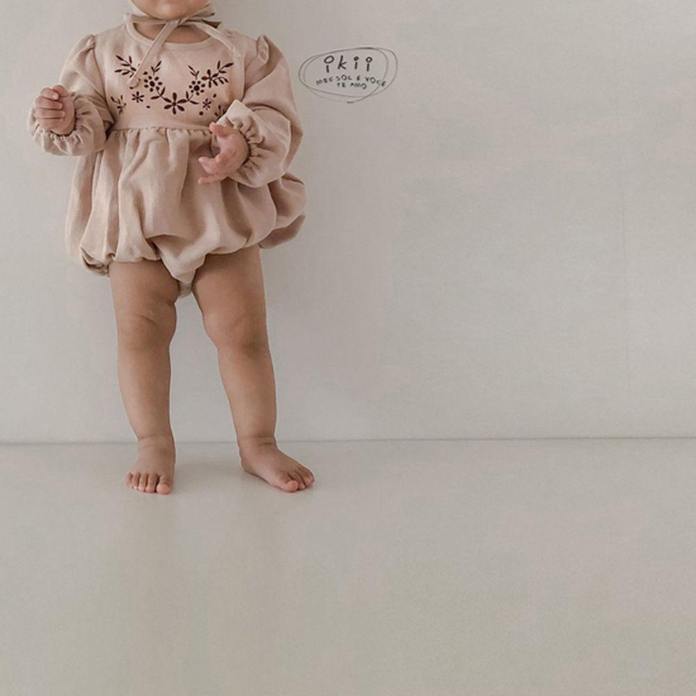 IKII - Korean Children Fashion - #Kfashion4kids - Bebe Anjou Romper with Bonnet - 7