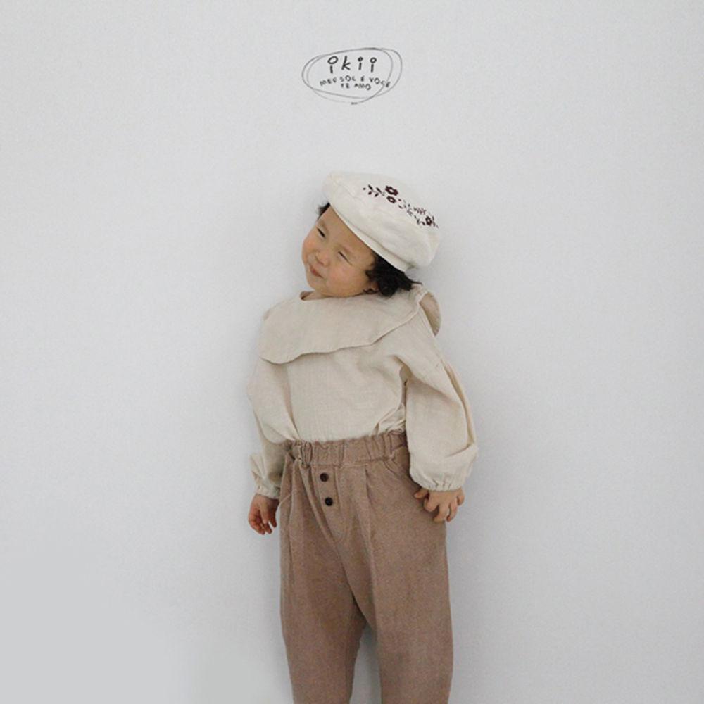 IKII - Korean Children Fashion - #Kfashion4kids - Grazia Blouse - 3