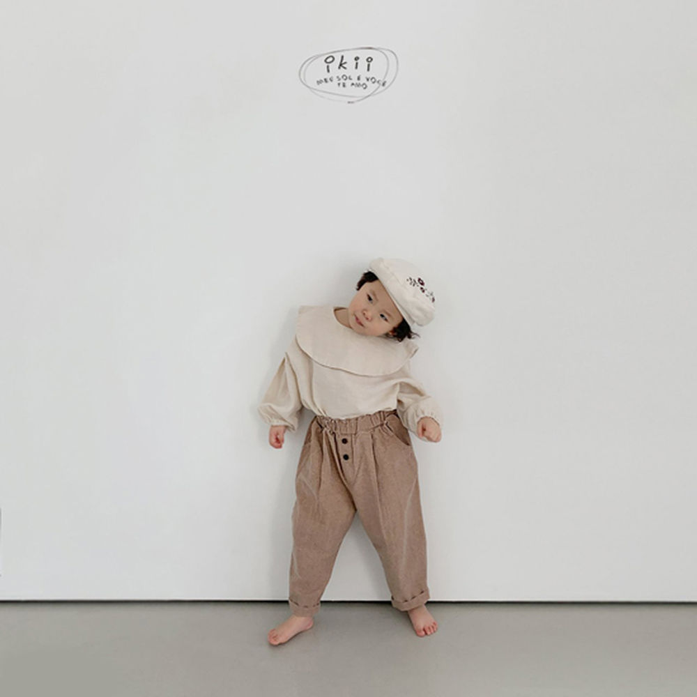 IKII - Korean Children Fashion - #Kfashion4kids - Grazia Blouse - 5