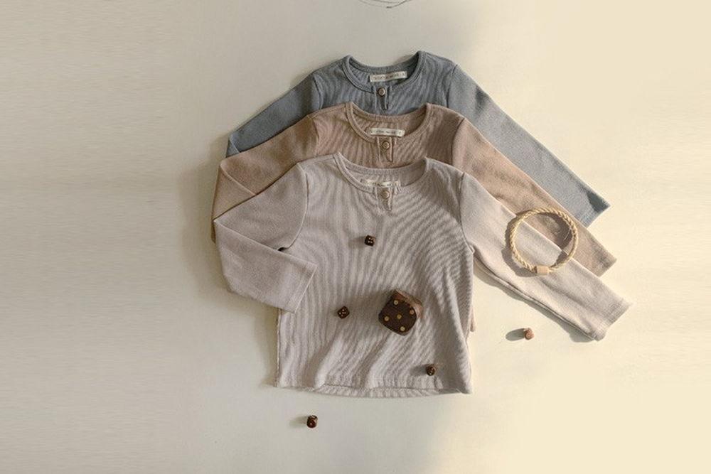 IKII - BRAND - Korean Children Fashion - #Kfashion4kids - Dono Rib Tee