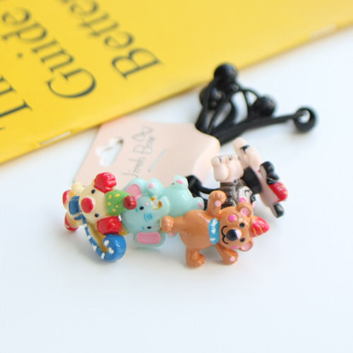 JIREH BOW - BRAND - Korean Children Fashion - #Kfashion4kids - Circus Hairstring [set of 5]