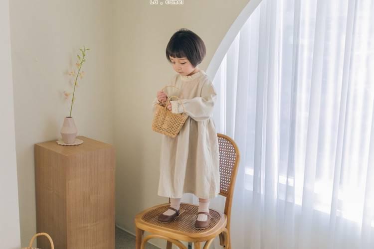 LA CAMEL - BRAND - Korean Children Fashion - #Kfashion4kids - For Me One-piece