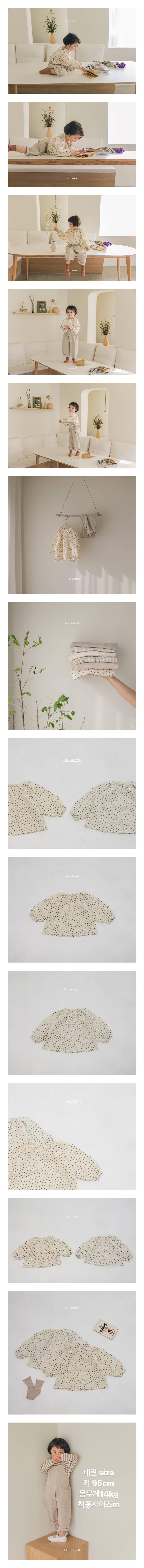 LA CAMEL - Korean Children Fashion - #Kfashion4kids - Ivy Blouse
