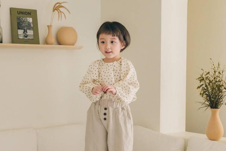 LA CAMEL - BRAND - Korean Children Fashion - #Kfashion4kids - Ivy Blouse
