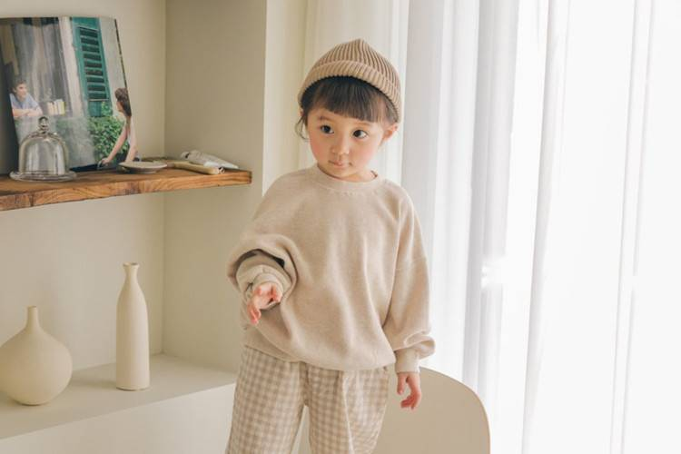 LA CAMEL - BRAND - Korean Children Fashion - #Kfashion4kids - Haru Waffle MTM