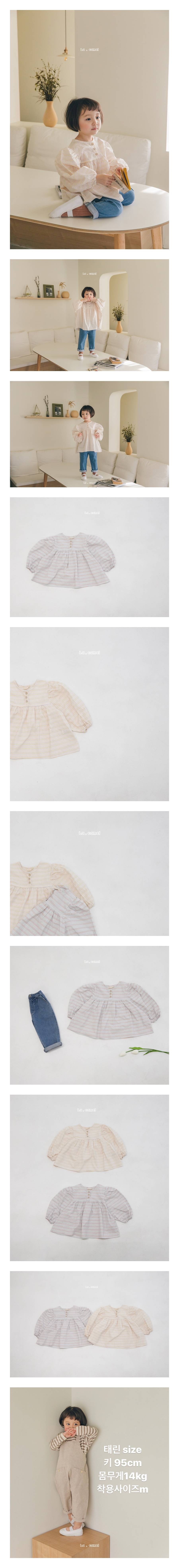 LA CAMEL - Korean Children Fashion - #Kfashion4kids - Miu Blouse