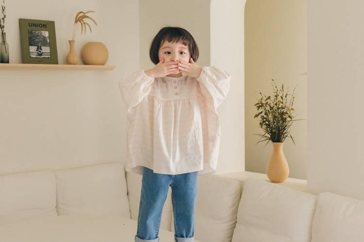 LA CAMEL - BRAND - Korean Children Fashion - #Kfashion4kids - Miu Blouse