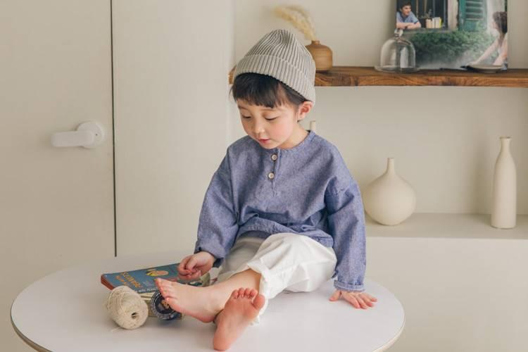 LA CAMEL - BRAND - Korean Children Fashion - #Kfashion4kids - Freddy Henly Neck Tee