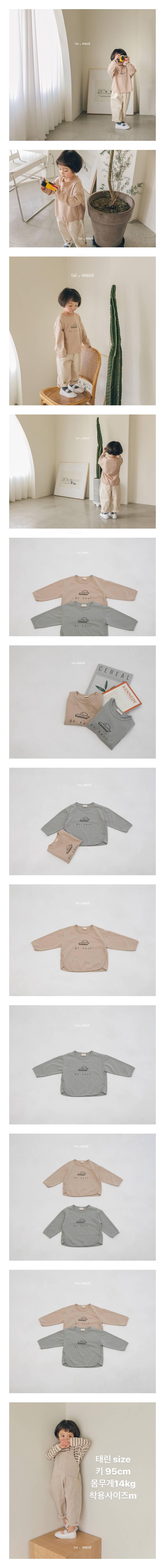 LA CAMEL - Korean Children Fashion - #Kfashion4kids - Puppy Tee