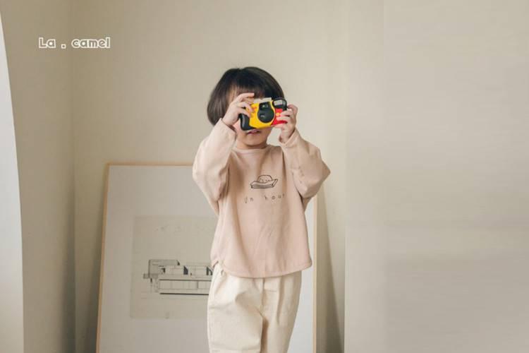 LA CAMEL - BRAND - Korean Children Fashion - #Kfashion4kids - Puppy Tee
