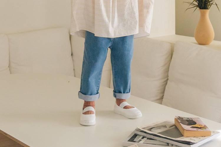 LA CAMEL - BRAND - Korean Children Fashion - #Kfashion4kids - Cheering Denim Pants