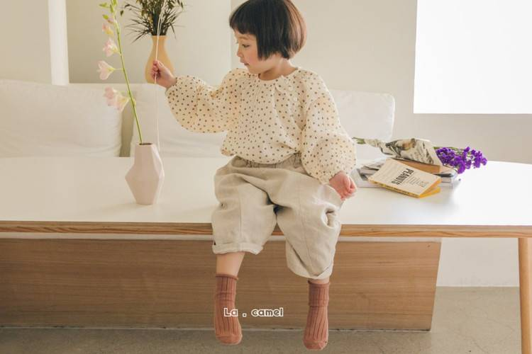 LA CAMEL - BRAND - Korean Children Fashion - #Kfashion4kids - Cloud Pants