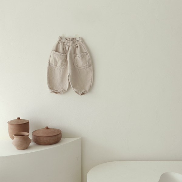 LEAU - BRAND - Korean Children Fashion - #Kfashion4kids - Pocket Pants