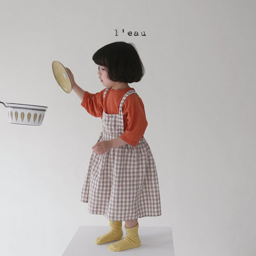 LEAU - Korean Children Fashion - #Kfashion4kids - Label Simgle Tee - 5