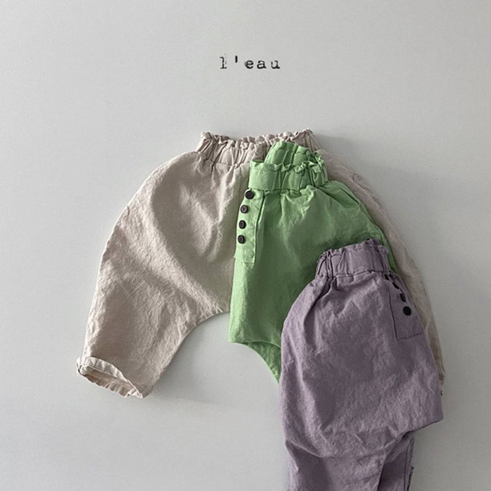 LEAU - Korean Children Fashion - #Kfashion4kids - Mass Color Pants